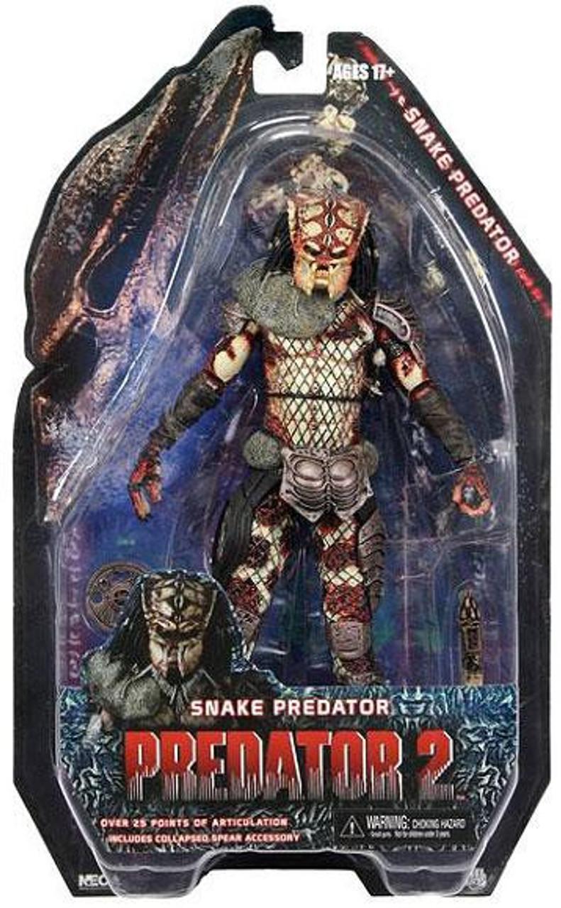 NECA Predator 2 Series 5 Snake Predator Action Figure