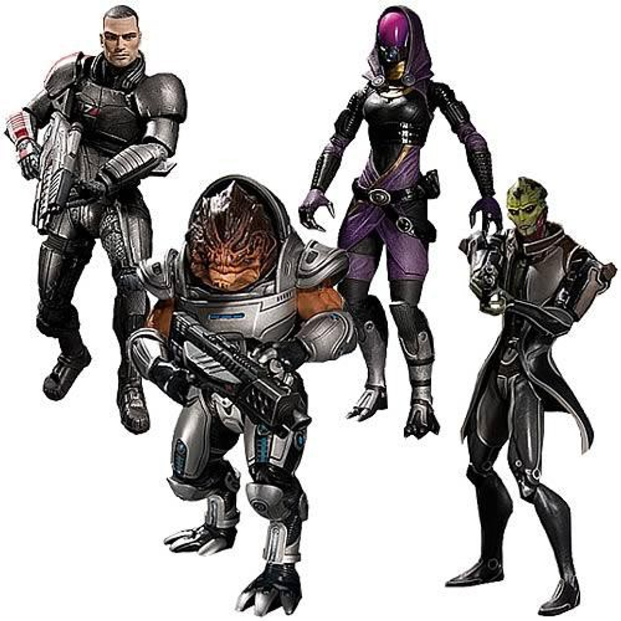Mass Effect 3 Series 1 Set of 4 Action Figures