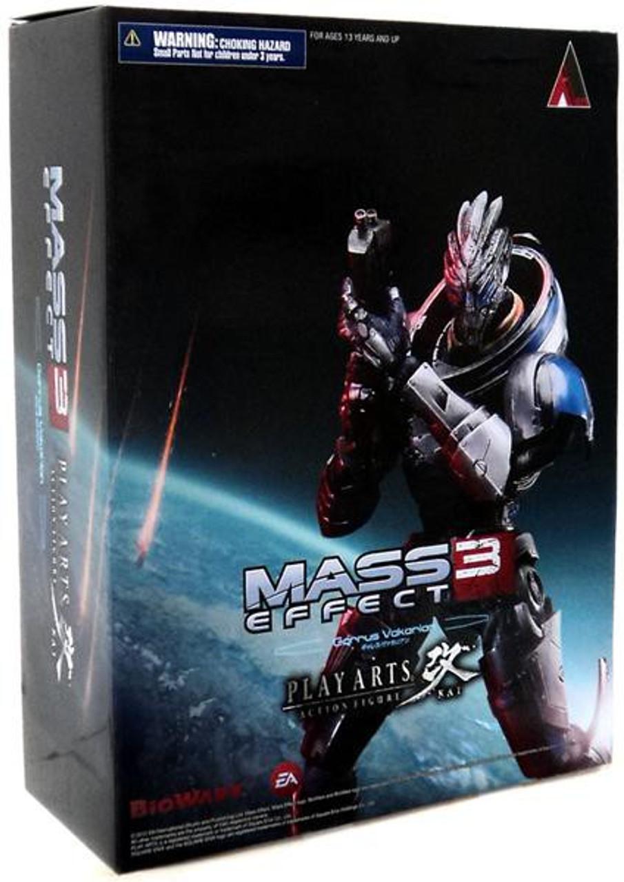 Mass Effect 3 Play Arts Kai Garrus Vakarian Action Figure