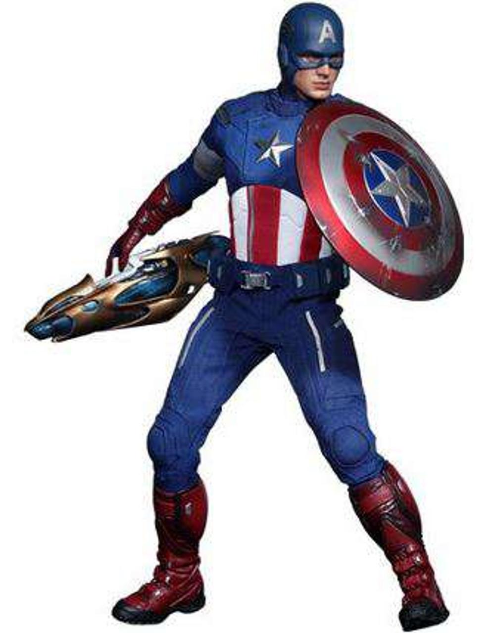 Marvel Avengers Movie Masterpiece Captain America 1/6 Collectible Figure [Avengers]