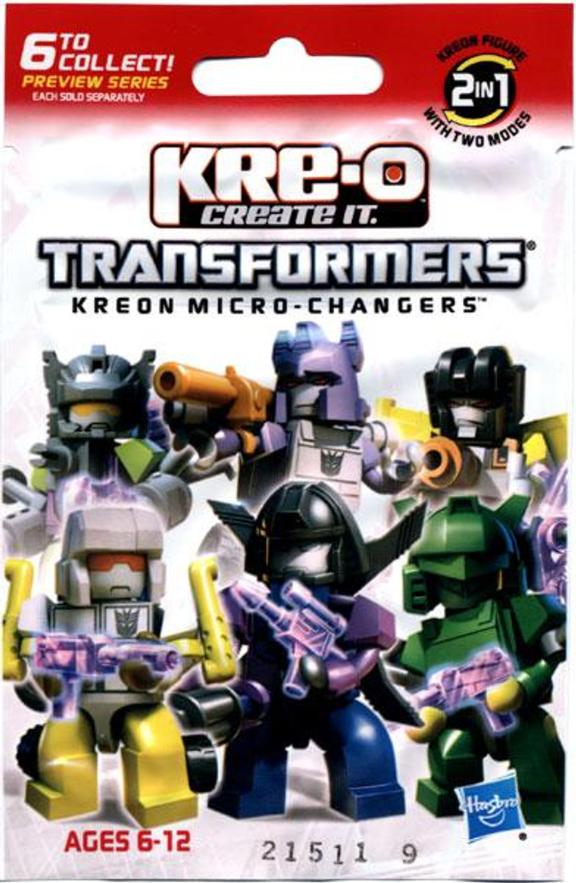 Transformers Kreon Micro-Changers Kre-O Minifigure Mystery Pack