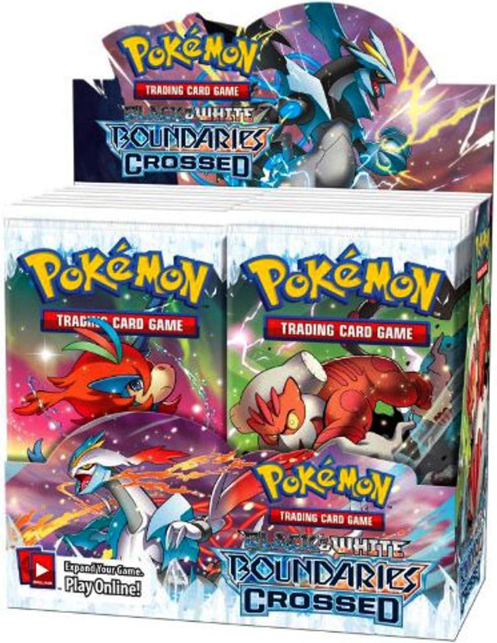 Pokemon Black & White Boundaries Crossed Booster Box [36 Packs]