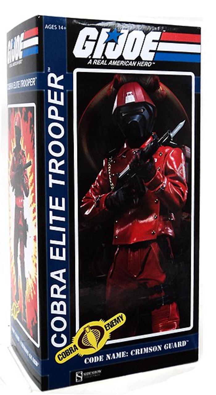 GI Joe Cobra Enemy Cobra Elite Trooper 1/6 Collectible Figure