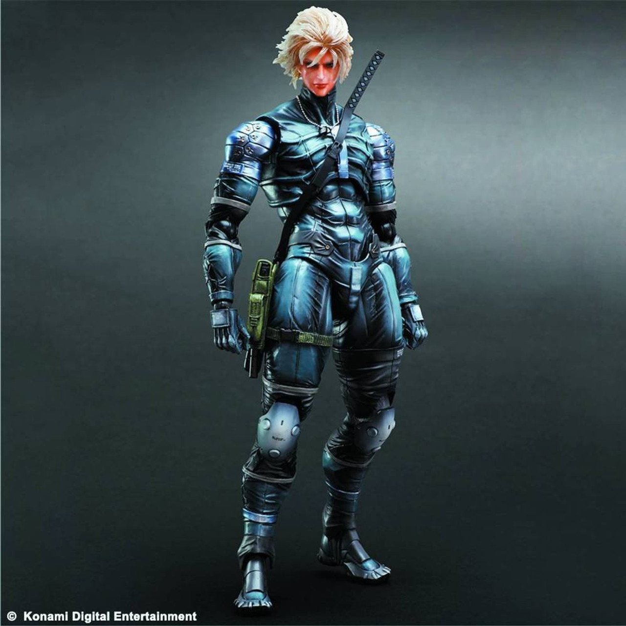 Metal Gear Solid 2 Sons Of Liberty Play Arts Kai Raiden Action Figure