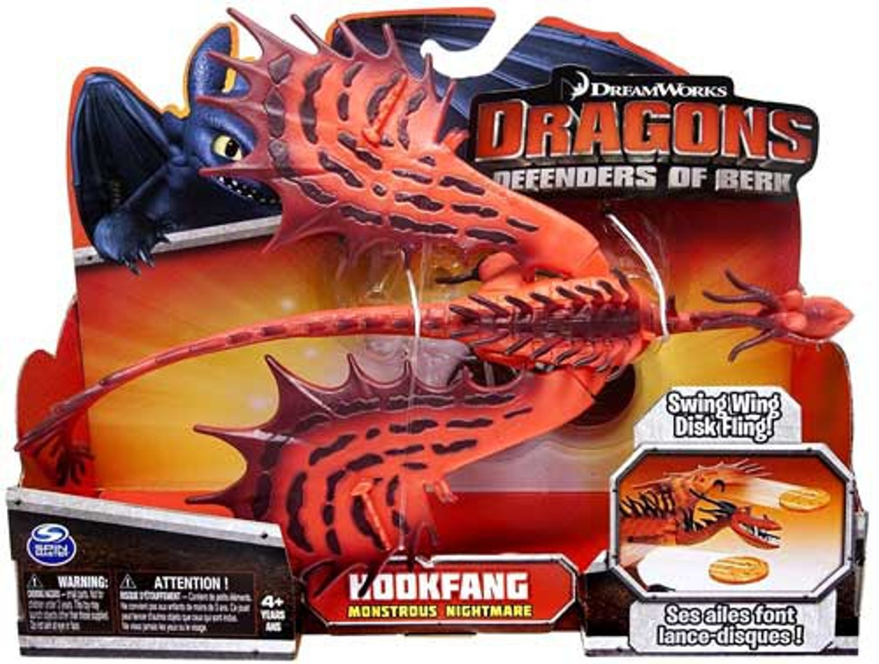 How to train your dragon defenders of berk hookfang action figure how to train your dragon defenders of berk hookfang action figure monstrous nightmare ccuart Images