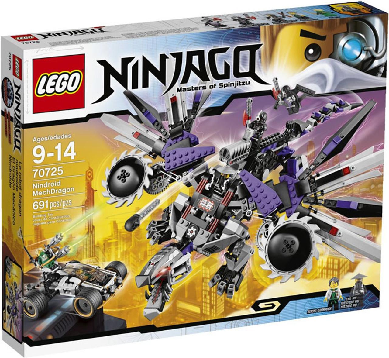 lego ninjago rebooted nindroid mechdragon set 70725 - Lego Ninja Go