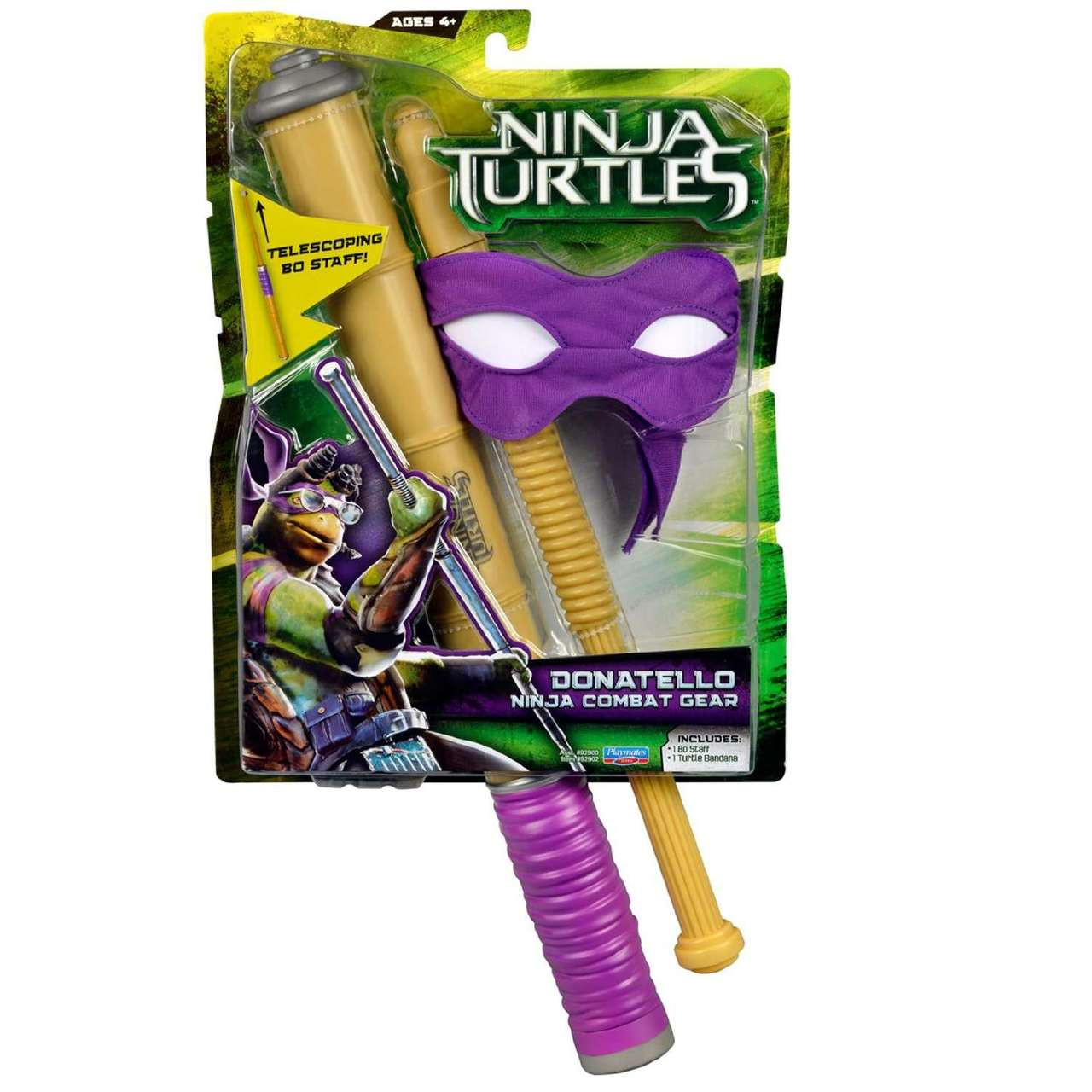 Teenage Mutant Ninja Turtles 2014 Movie Donatello Ninja Combat Gear  Roleplay Toy