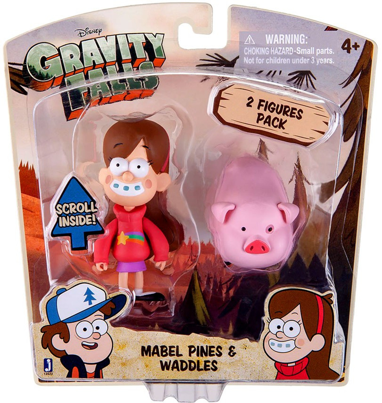 Disney Gravity Falls Mabel Pines & Waddles Action Figure 2-Pack