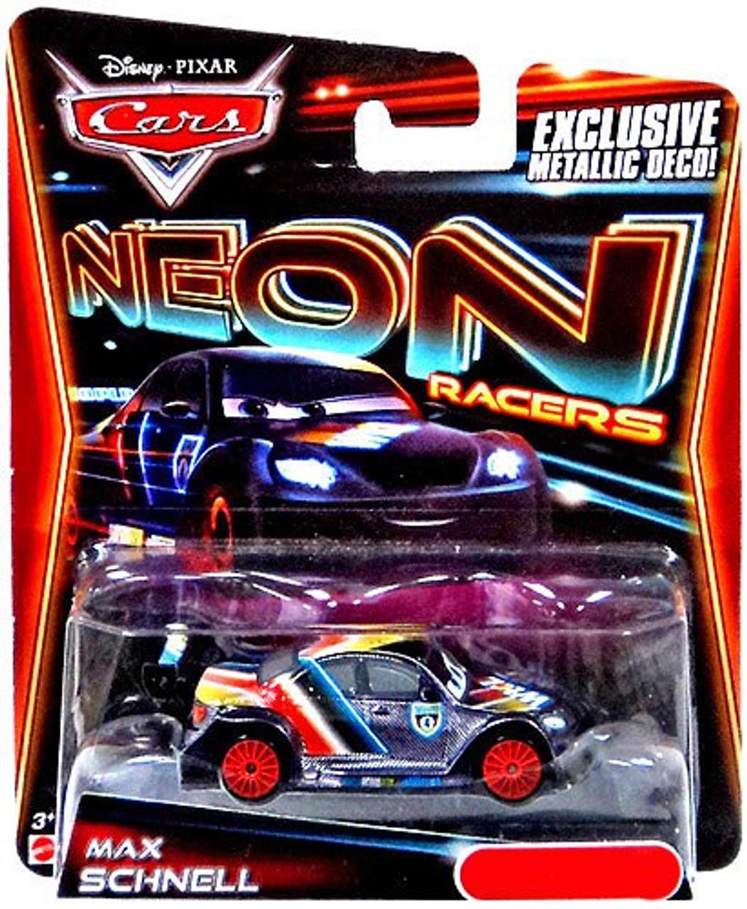 Disney Pixar Cars Neon Racers Max Schnell Exclusive 155