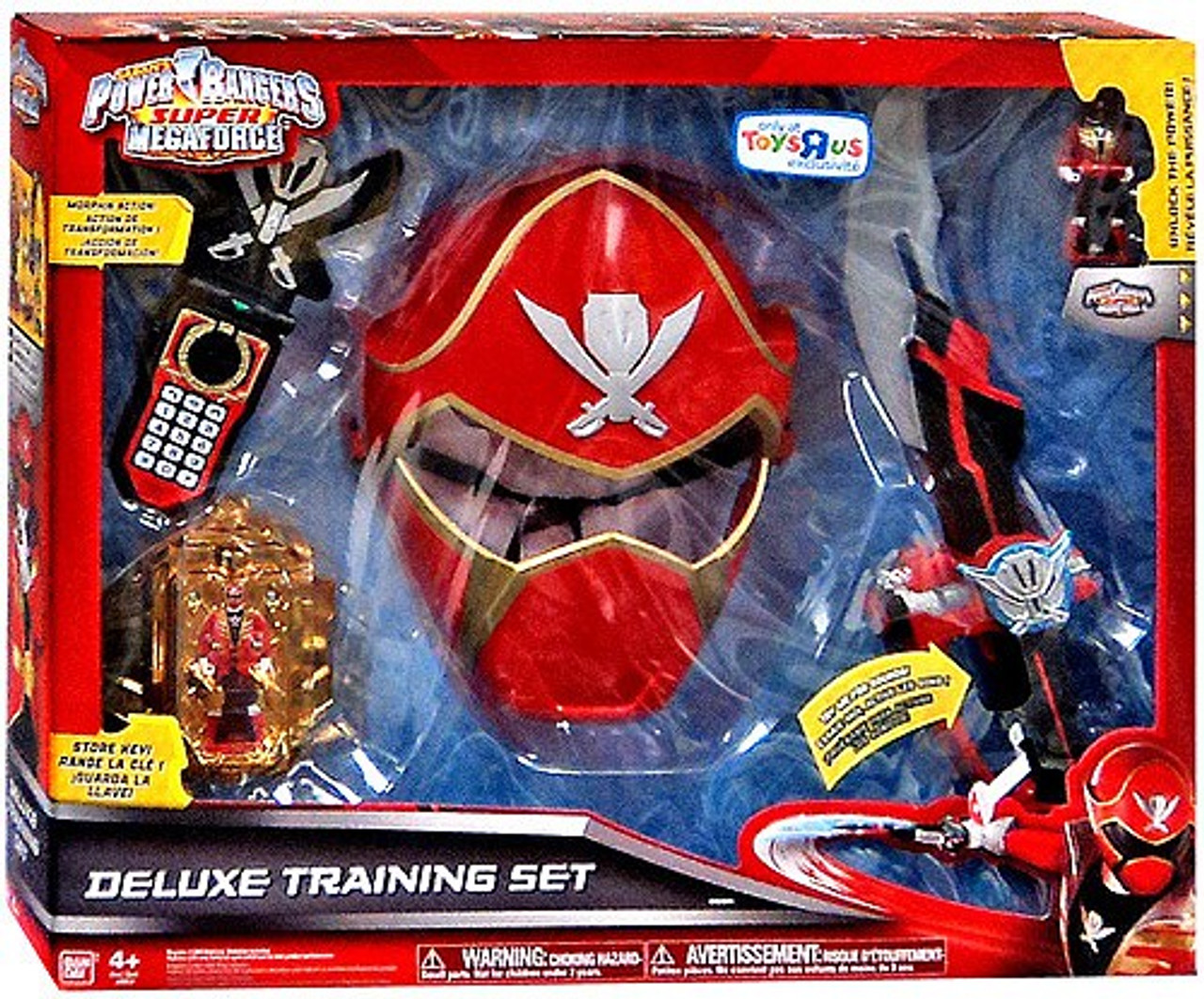 Power Rangers Super Megaforce Deluxe Training Set ...