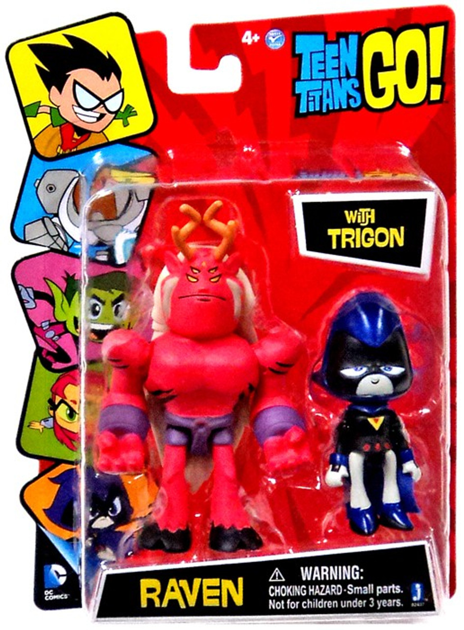 Teen Titans Go Raven With Trigon 3 Mini Figure 2-Pack -9051