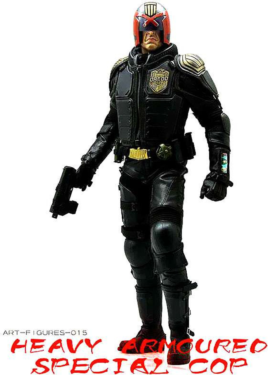 Really Hot toys Mega City Cop 1/6 Collectible Figure [AF-015]