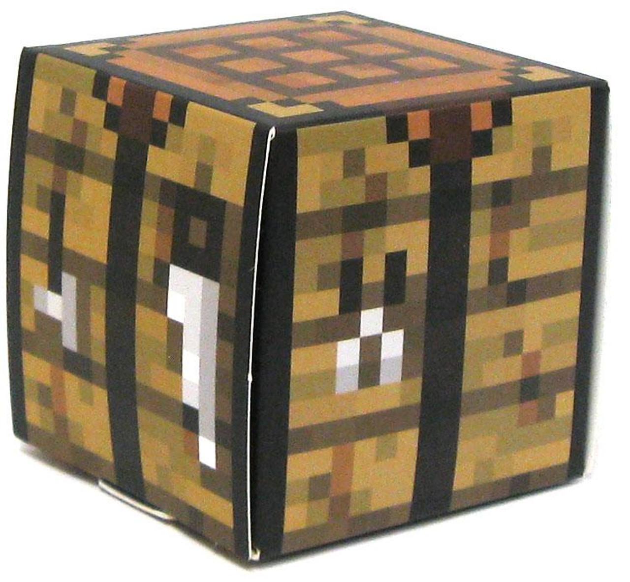 Minecraft Crafting Table Papercraft Single Piece Jazwares Toywiz