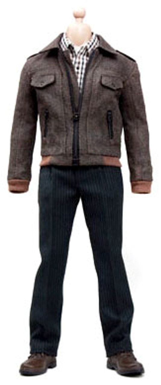 1/6 Fashion Leather Bomber Jacket 1/6 Clothing Set [POP-F8]