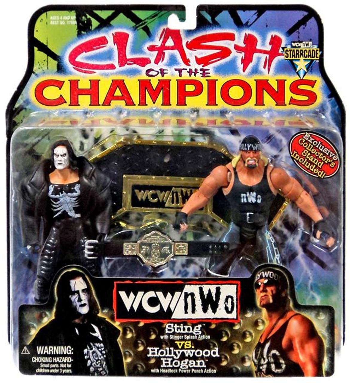 Wwe Wrestling Nwo Clash Of The Champions Sting Vs