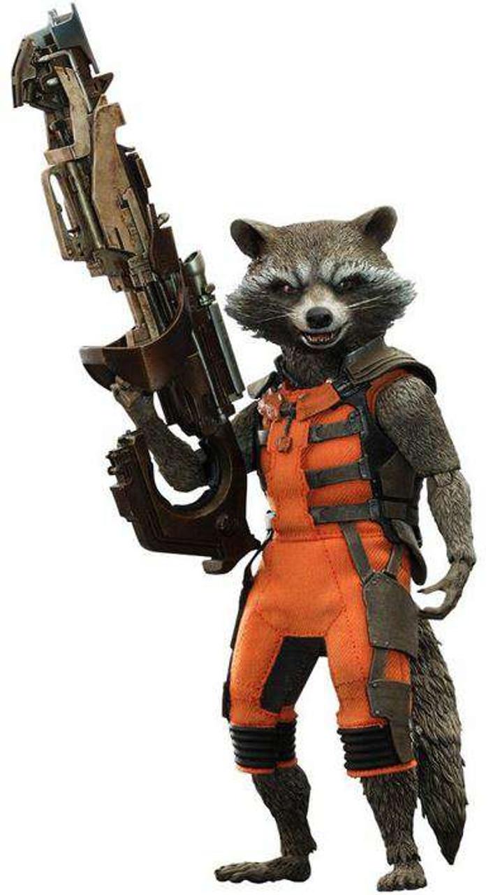 Marvel Guardians of the Galaxy Movie Masterpiece Rocket Raccoon Collectible Figure