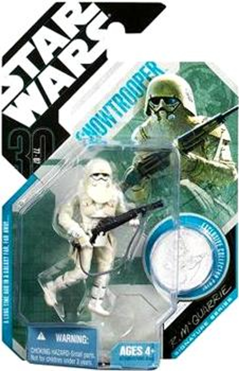 Star Wars Expanded Universe 30th Anniversary 2007 Wave 6 Snowtrooper Action Figure #42 [McQuarrie Concept]