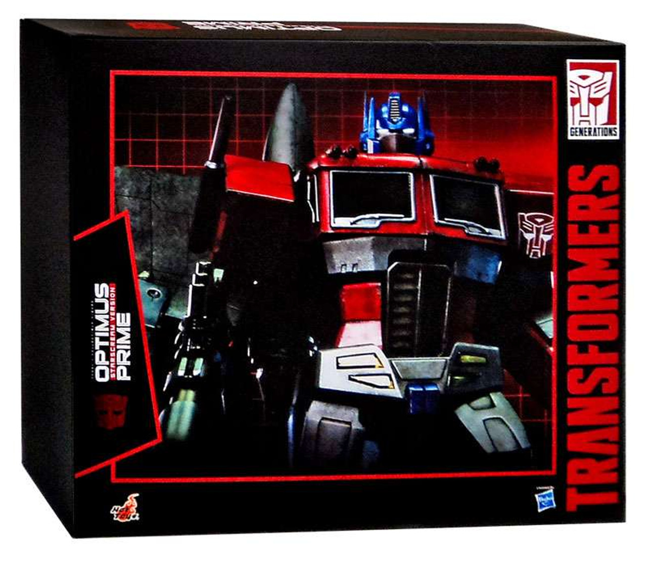 Transformers Optimus Prime 1:6 Collectible Figure [Starscream Version]