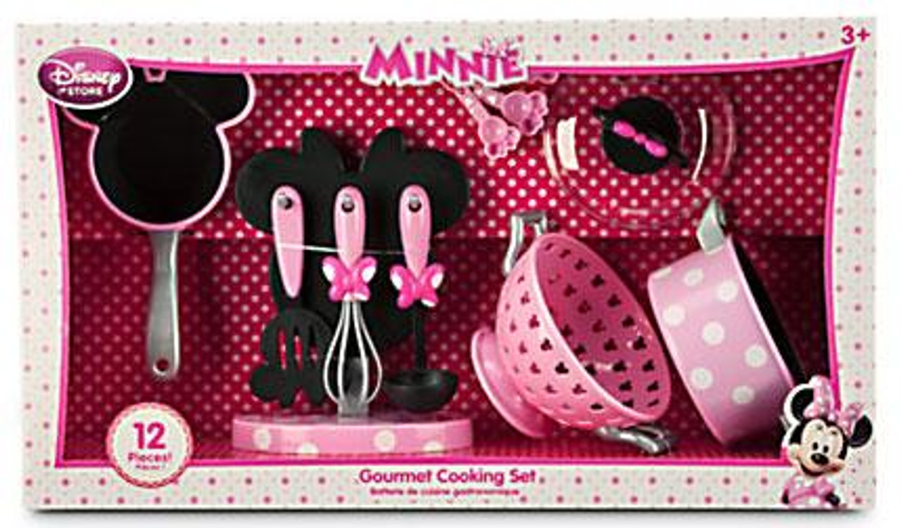 Disney Minnie Mouse 2014 Gourmet Cooking Set Exclusive