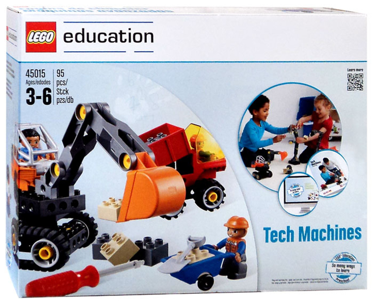 LEGO Education Tech Machines Set 45015 - ToyWiz