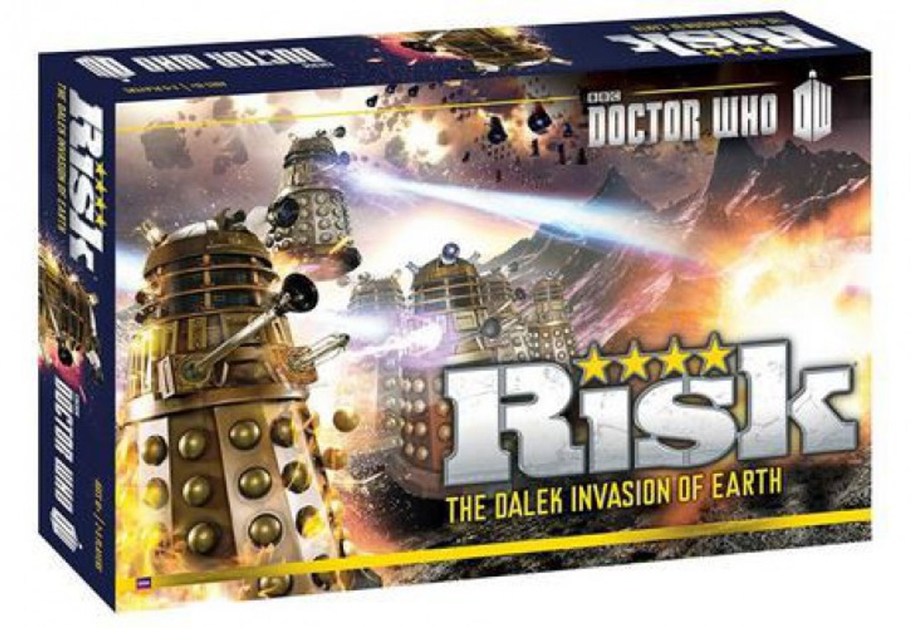 Doctor Who Risk Board Game [The Dalek Invasion of Earth]