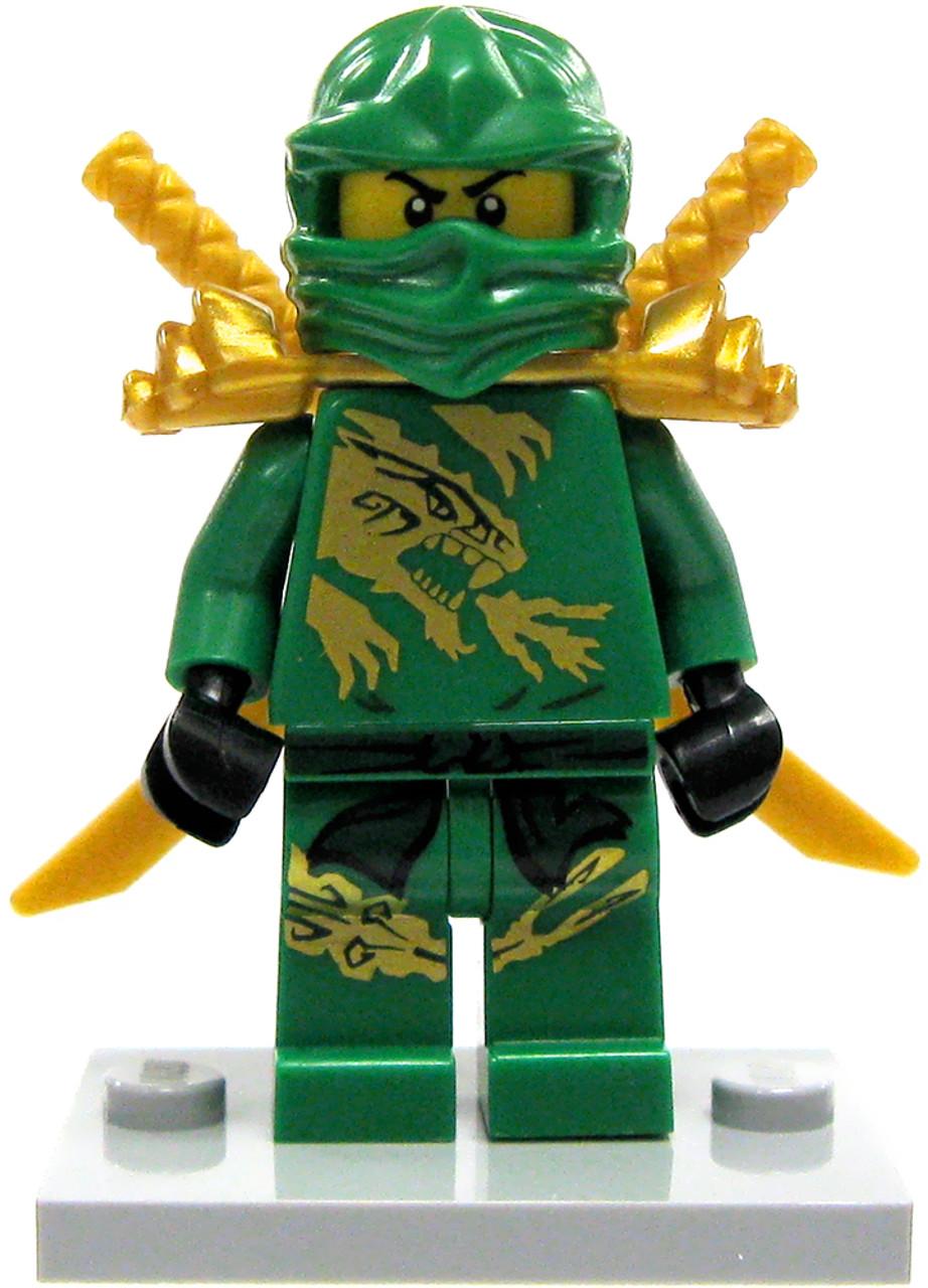 LEGO Ninjago Lloyd Minifigure Green Gold Ninja Loose - ToyWiz