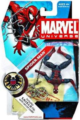 marvel universe series 5 spider man 3 75 action figure 32 upside