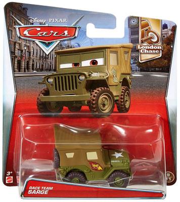 Disney cars toys at buy disney pixar cars for Sarge automobiles garage serus