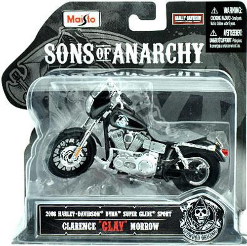 Sons Of Anarchy Clarence Clay Morrow 118 Diecast Replica Bike Maisto