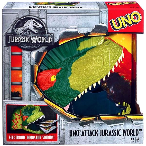 Jurassic World Uno Uno Attack Jurassic World Card Game Mattel Toywiz