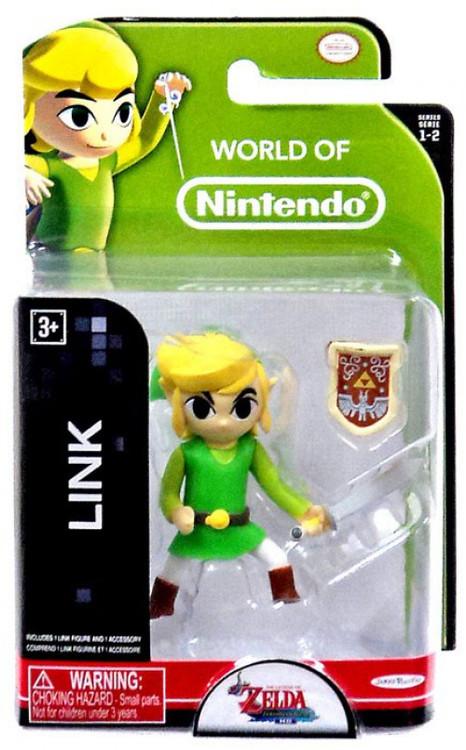 world of nintendo legend of zelda link 2 5 mini figure jakks pacific