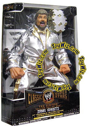 JAKKS WWE Wrestling Classic Superstars Ring Giants Ted Di...
