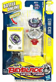 Hasbro Beyblade Metal Fusion Torch Aries BB-13 [Legend]