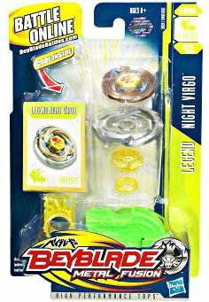 Hasbro Beyblade Metal Fusion Night Virgo Single Pack BB-2...