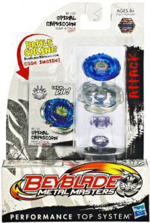 Hasbro Beyblade Metal Masters Spiral Capricorn Single Pac...