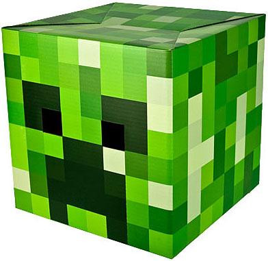 Jinx Minecraft Creeper Cardboard Head