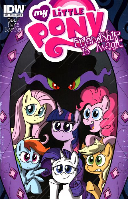 my little pony friendship is magic comic book 18 cover b