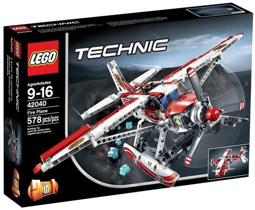 Lego Technic Fire Plane Set #42040