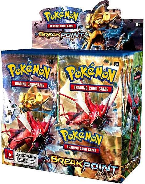Pokemon TCG: XY Break Point Booster Display 36pk Box Trading Card Game 12581069, As Shown