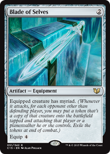 Wizards Of The Coast MtG Commander 2015 Rare Blade of Sel...