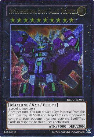 Free Home Phone Service >> YuGiOh Zexal Return of the Duelist Single Card Ultimate Rare Superdimensional Robot Galaxy ...