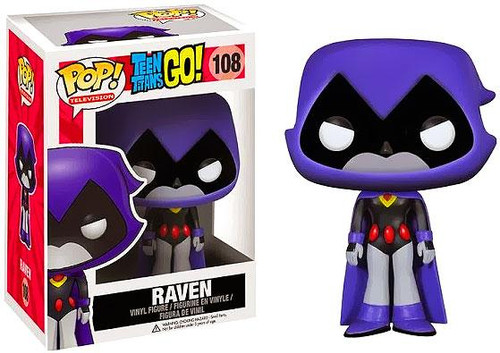 Funko Teen Titans Go Funko Pop Tv Raven Vinyl Figure 108