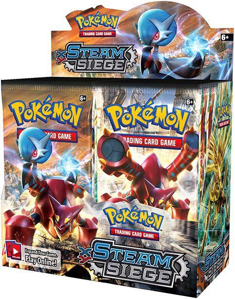 Pokemon Xy Steam Siege Factory Sealed Booster Box