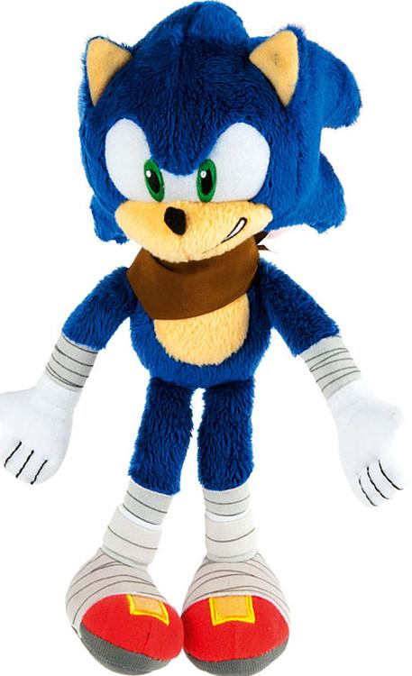 Target Sonic Toys : Sonic the hedgehog boom plush showing teeth