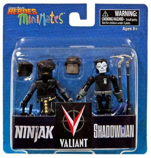 Valiant Free Comic Book Day: Valiant Comic Book Heroes Minimates Ninjak Shadowman 2
