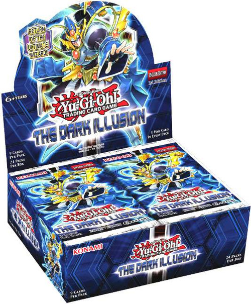 Konami YuGiOh The Dark Illusion Booster Box [24 Packs] [S...