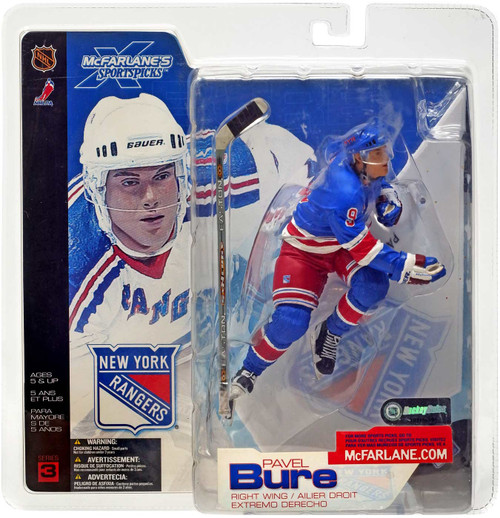 Mcfarlane Toys NHL New York Rangers Sports Picks Series 3...