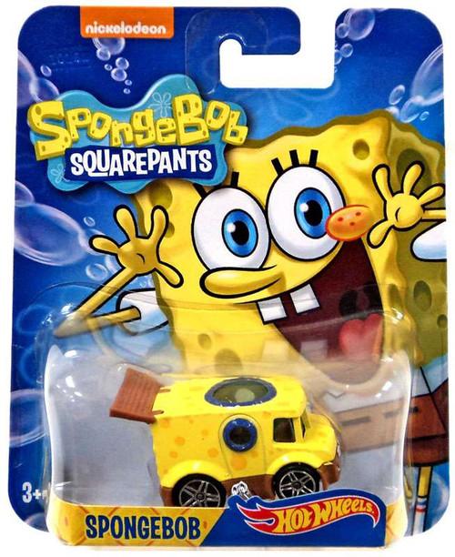Mattel Hot Wheels Spongebob Squarepants Spongebob Diecast...