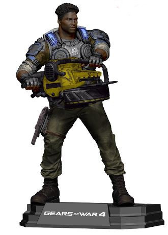 Mcfarlane Toys Gears of War 4 Color Tops Blue Wave Del Wa...