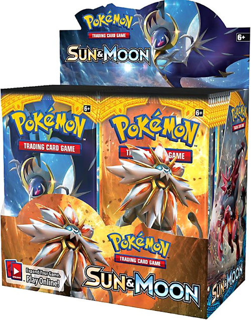 Pokemon Sun & Moon Booster Box [36 Packs]